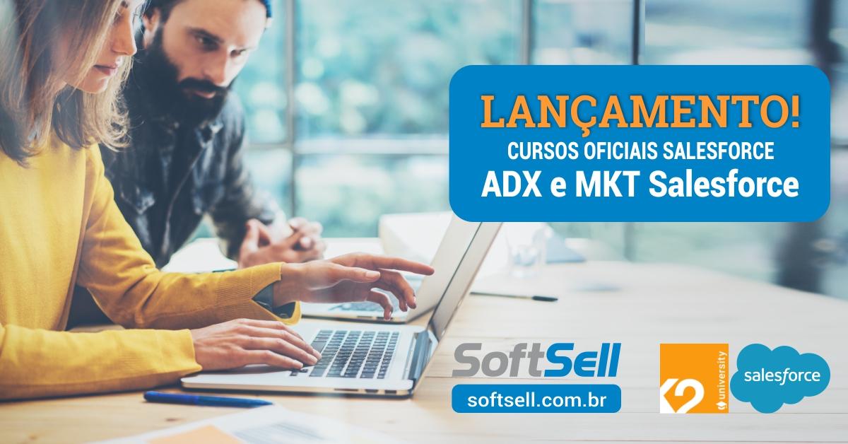 Parceria SoftSell e K2 Partnering para Treinamentos e Certificações Oficiais Salesforce